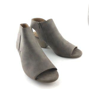 Natural Soul Daph Peep Toe Boots